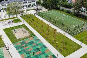 W miejscu dawnych ogródków działkowych powstał park rekreacji