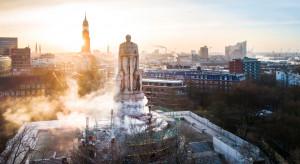 Największy na świecie pomnik Ottona von Bismarcka przeszedł kompleksowe czyszczenie