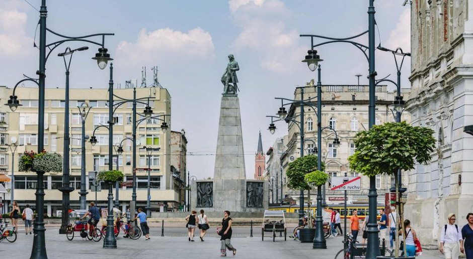 Nowy plac Wolności w Łodzi będzie pełen zieleni
