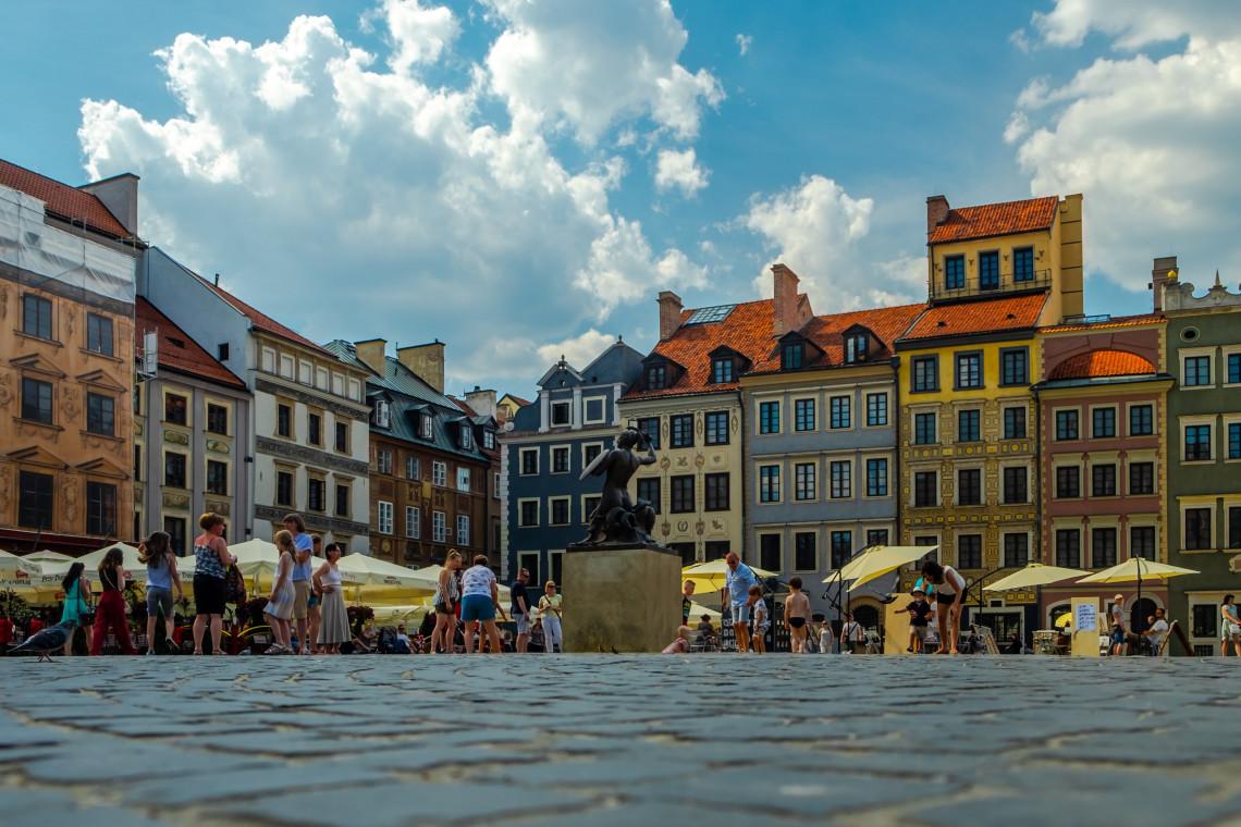 Warszawa bez kurtyn wodnych