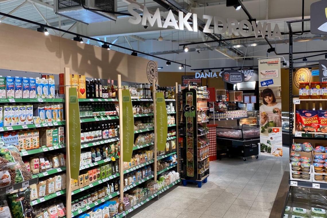 Supermarket Intermarché w Pabianicach po liftingu