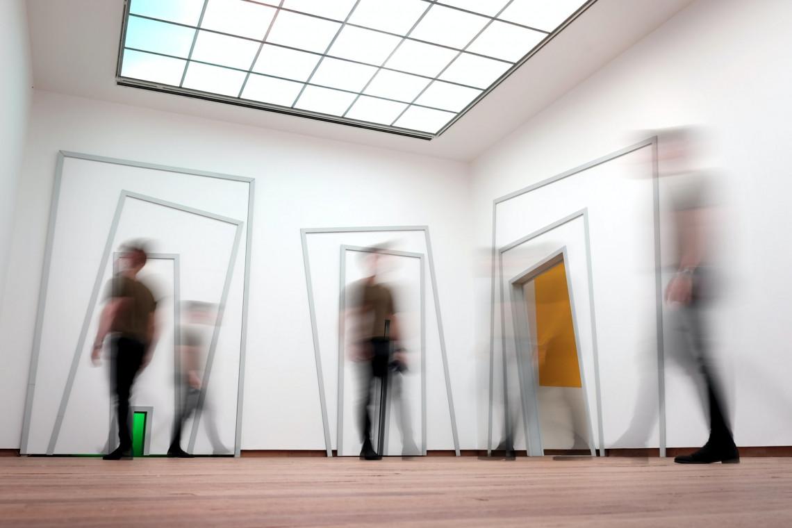 Wystawa stała Muzeum Historii Polski z pierwszymi eksponatami