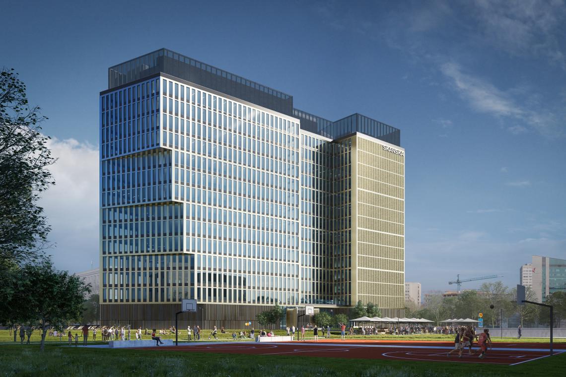 PRC Architekci projektują najnowszy biurowiec Skanska