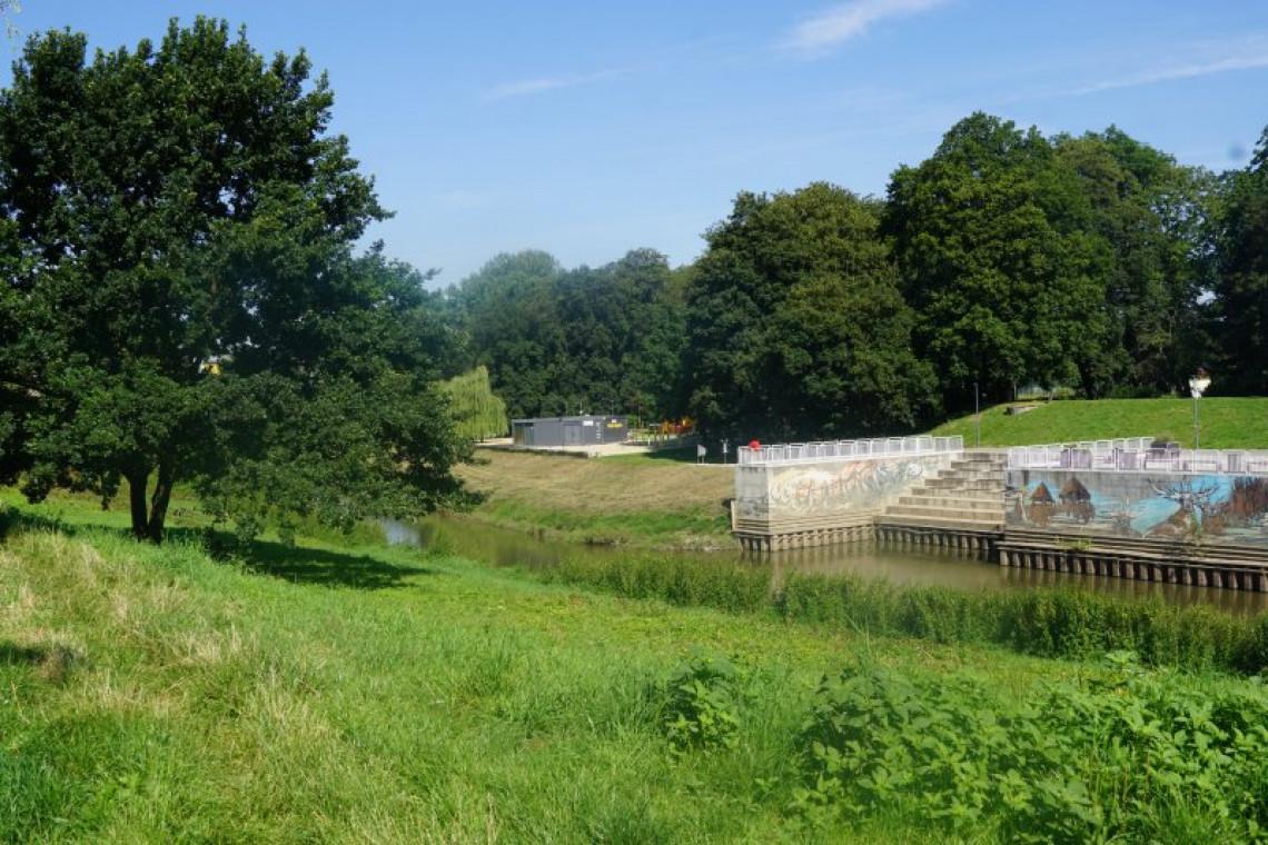 Ruszają prace budowlane na bulwarach nadodrzańskich w Raciborzu