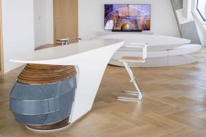 Oto nowy apartament pokazowy Złotej 44. Luksus łączy się z designem i ekologią