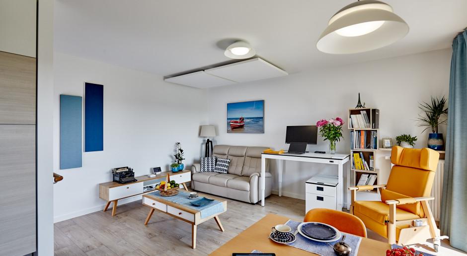 Dzięki inicjatywie architektów powstało wzorcowe mieszkanie dla seniora.