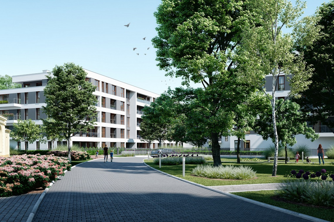 Studio Lisiak z nową inwestycją w centrum Poznania. Powstanie na tyłach historycznej Willi Flora