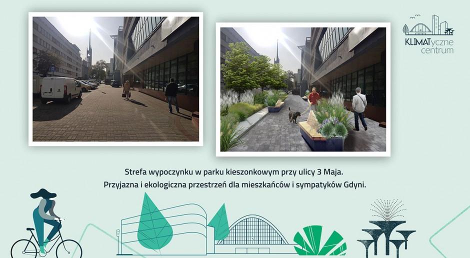 Kolejny projekt w ramach KLIMATycznego centrum Gdyni. Ulica 3 Maja przejdzie metamorfozę