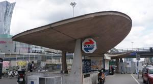 Wiata kolejowa Warszawa Śródmieście WKD wpisana do rejestru zabytków