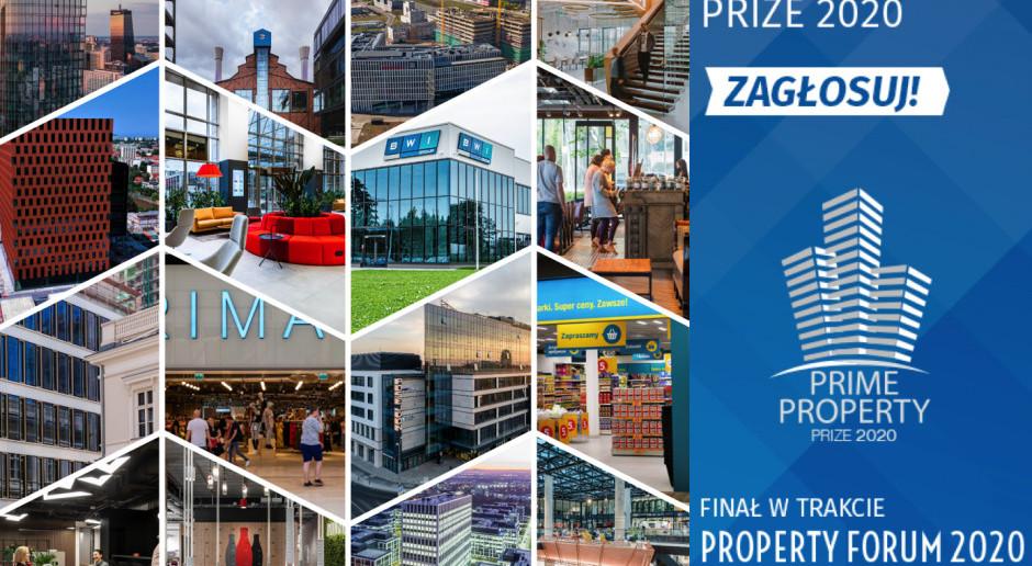 Oto nominacje Prime Property Prize 2020! Zapraszamy do głosowania!