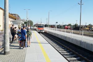 Podróżni na Podlasiu skorzystają z nowych peronów