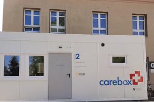 Przy szpitalu w Łodzi pojawiła się mobilna izba przyjęć