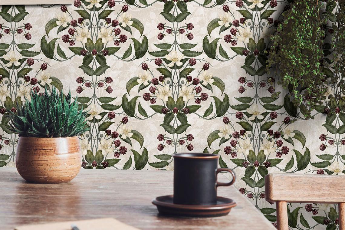 Floralne motywy w nowej kolekcji tapet