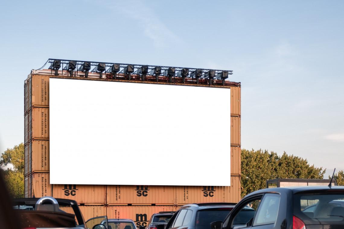 Parking galerii handlowej zamieni się w kino