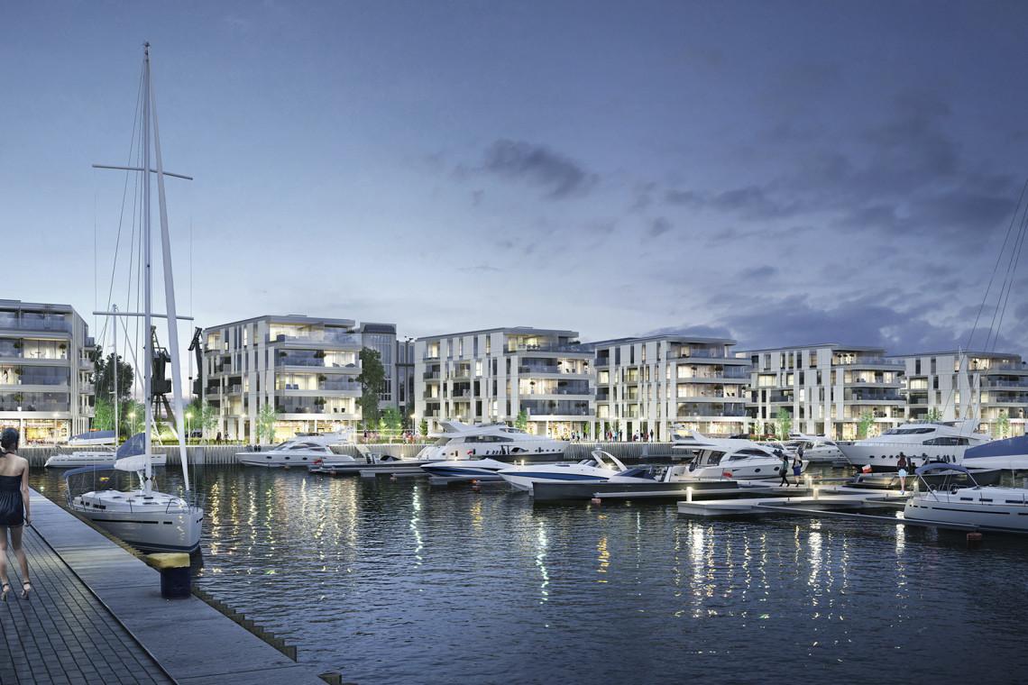 Luksusowe inwestycje zdobywają tereny nadwodne Trójmiasta