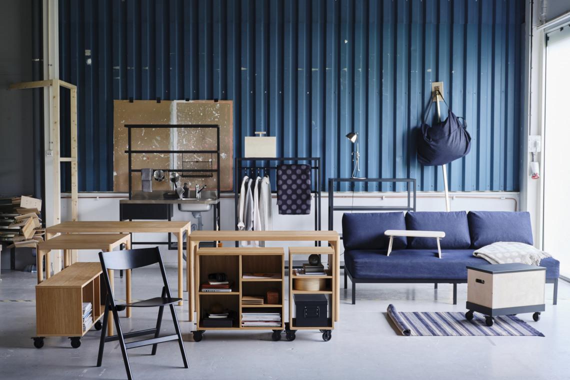 IKEA pokazała nową kolekcję. Jest mobilnie i wielofunkcyjnie