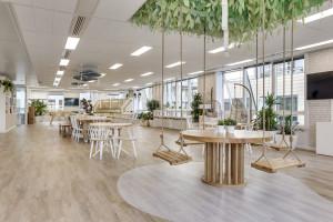 Przestrzenie rotujące przyszłością aranżacji postcovidowych biur?