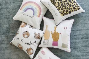 """Kera Till """"pomalowała"""" tekstylia znanej wnętrzarskiej marki"""