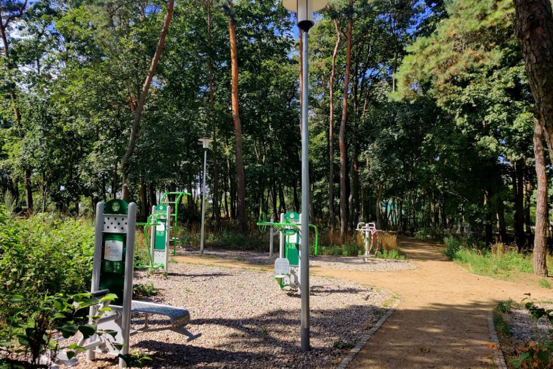 Szczecińskie parki z nowym oświetleniem