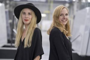 Londyński duet specjalistek od wzorów stworzył kolekcję spieków kwarcowych