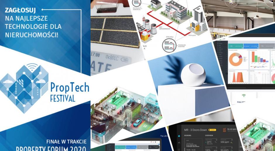 Oto TOP 15 technologii i rozwiązań dla nieruchomości. Zapraszamy do głosowania w Proptech Festival 2020!