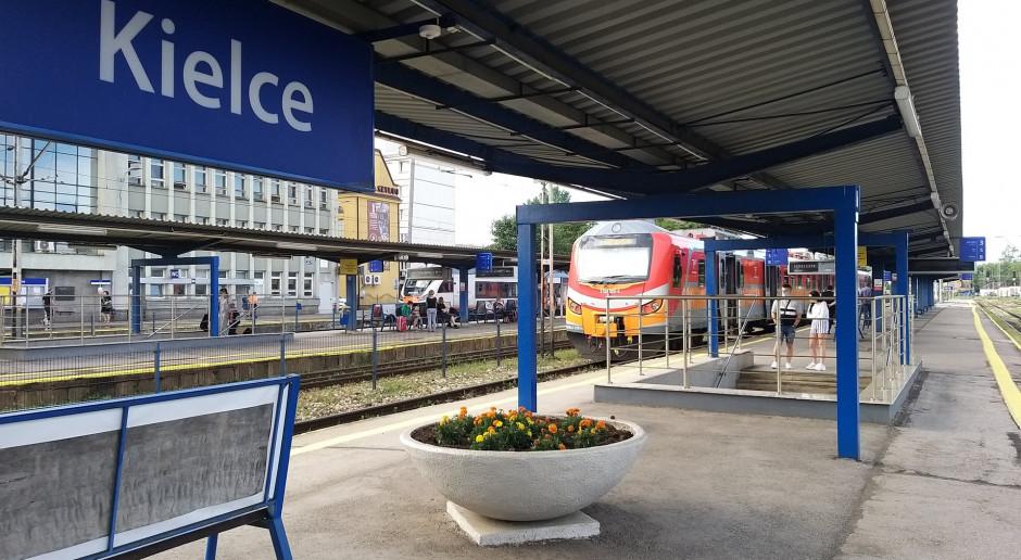 Wspólna inwestycja miasta i PKP PLK w Kielcach