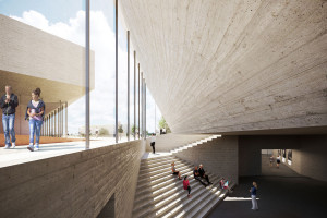 Biblioteka prezydencka w sercu parku narodowego. To nowa koncepcja od Henning Larsen