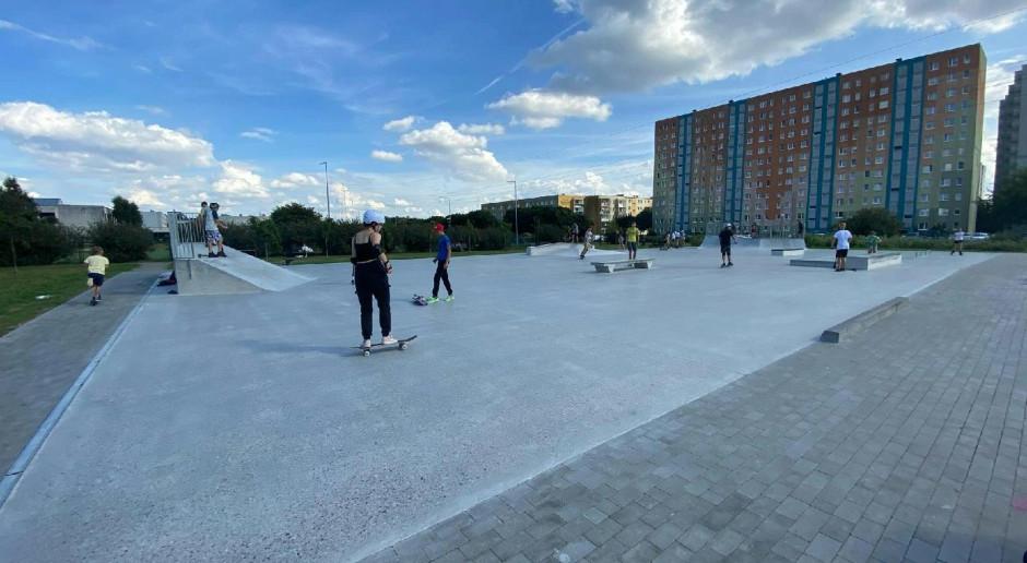 W Poznaniu powstał nowy skatepark