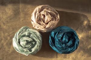 Tekstylia we wnętrzach: szlachetny jedwab
