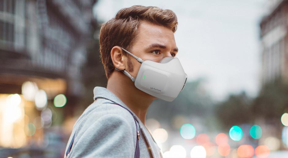 Ten oczyszczacz powietrza założysz... na twarz. Koreańska marka pokazuje nowy produkt