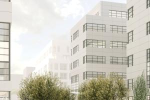 Ruszyła modernizacja terenu wokół kompleksu Hol 7.7. Za projektem stoją Grupa Plus Architekci