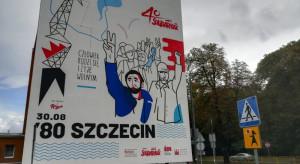 W Szczecinie odsłonięto jubileuszowy mural Solidarności