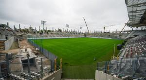 Prace na budowie stadionu ŁKS w Łodzi nie zwalniają