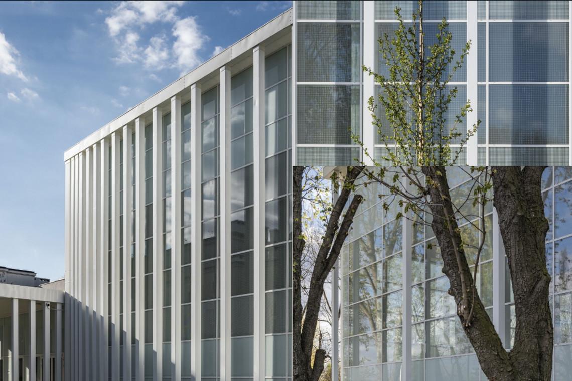 Mimo wielkich gabarytów, elewacja daje wrażenie lekkości. Oto najnowszy projekt Demiurg w Warszawie