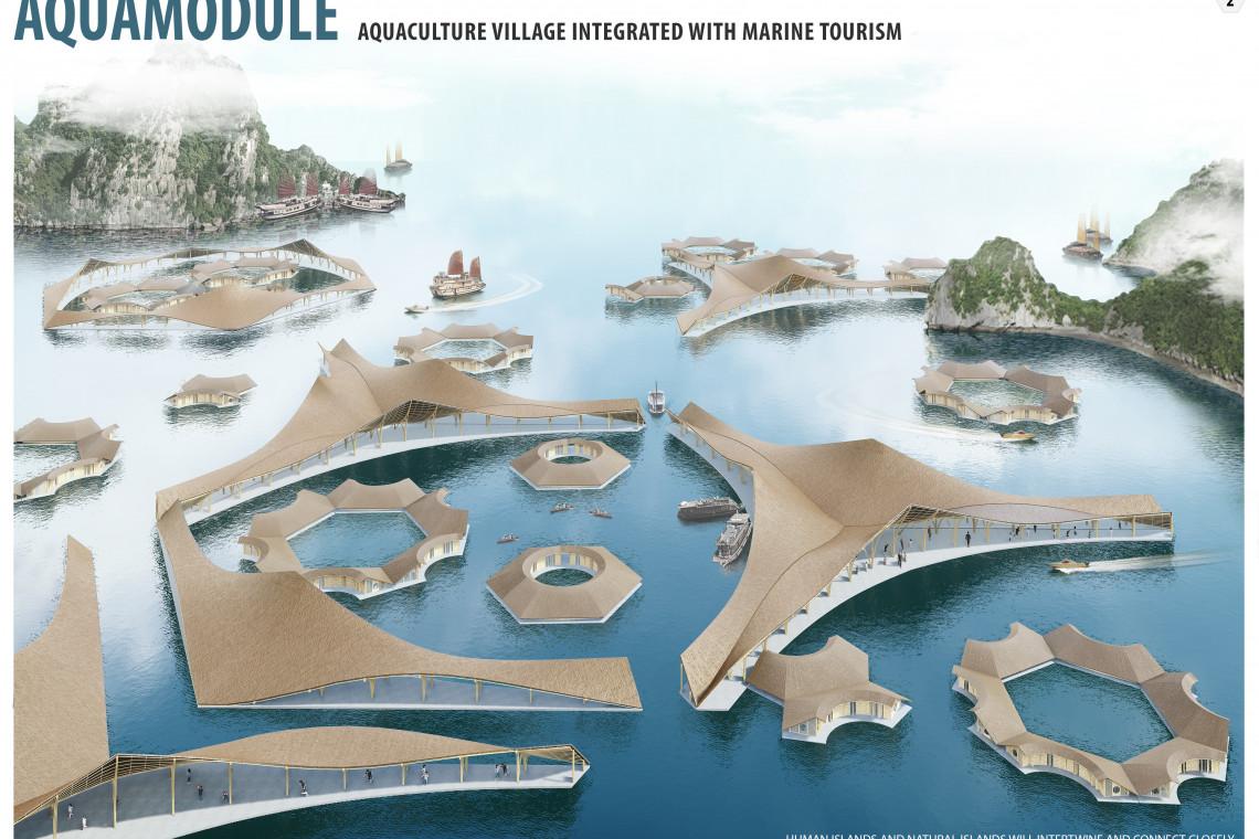 Samowystarczalna morska wioska - ten projekt architekta okazał się najlepszy