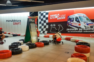 To pierwszy tor fo driftu w galerii handlowej w Polsce