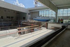 Zaglądamy na budowę najgłębszego basenu nurkowego na świecie