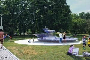 Nowe życie fontanny w Parku Niedźwiadków