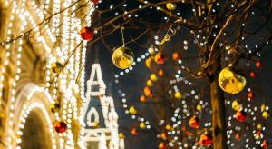 W miastach pojawiają się już dekoracje bożonarodzeniowe