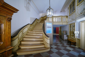 Wnętrza XVIII-wiecznej kamienicy z Gdańska do wirtualnego zwiedzania