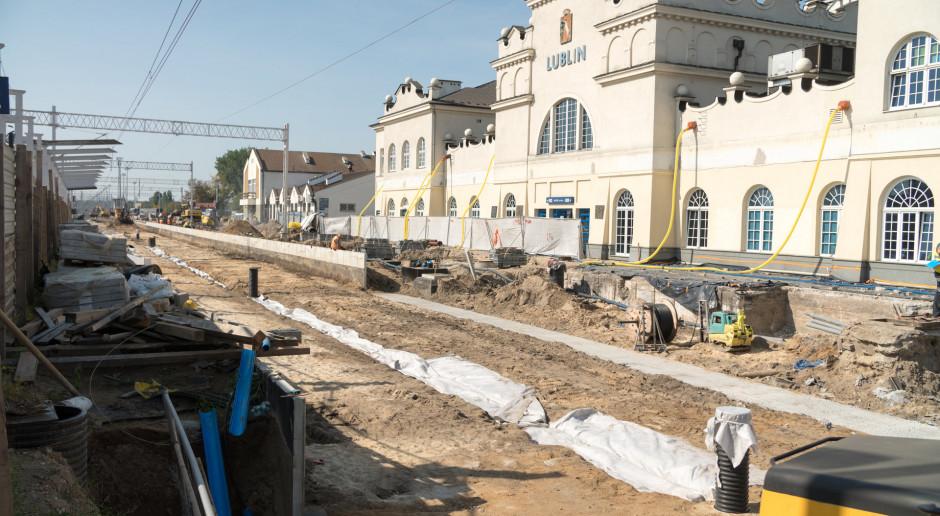Stacja Lublin Główny przechodzi metamorfozę