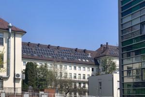 Szczeciński szpital stawia na zieloną energię. Fotowoltaika na dachu i elewacjach