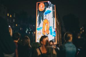 Ruchome murale rozświetliły wrocławskie podwórka