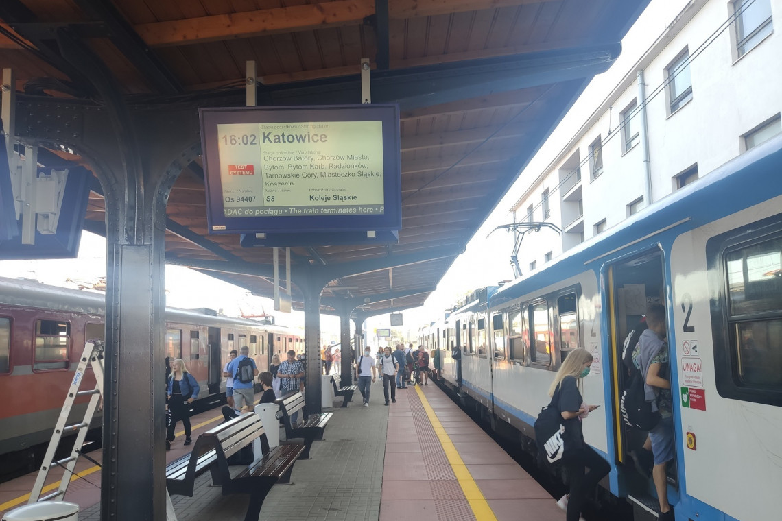 Nowe wyświetlacze, tablice i windy na stacji Lubliniec