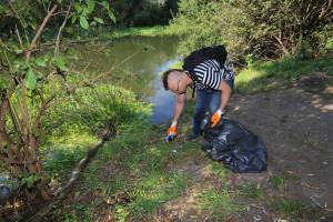 Wielkie sprzątanie Niskich Łąk we Wrocławiu