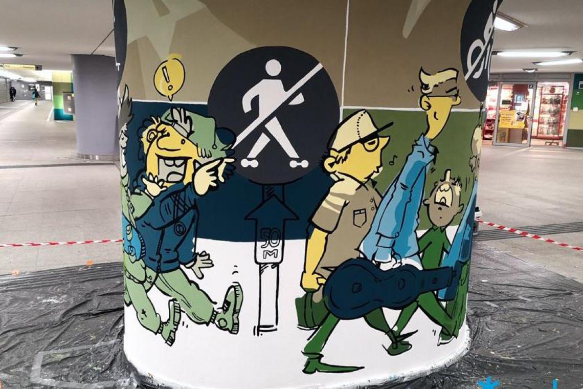 Nowy mural w Poznaniu
