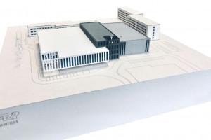 Ogrody na dachu i dwie duże hale sportowe. Tak będzie wyglądać nowa hala AGH w Krakowie
