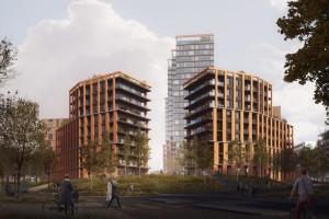 To będzie spektakularny wysokościowiec projektu BBGK Architekci. Przyszła ikona Popowic i zachodniej części Wrocławia