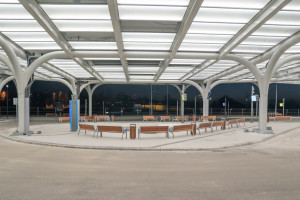 Węzeł przesiadkowy Sądowa w Katowicach oficjalnie otwarty