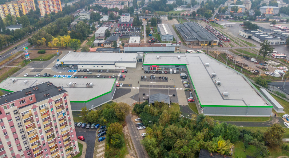 Nowa bryła handlowa w Częstochowie